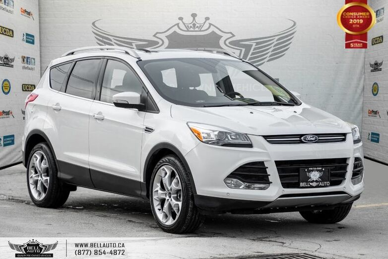 2015 Ford Escape Titanium, AWD, NAVI, REAR CAM, LEATHER, B.SPOT, PANO ROOF Toronto ON