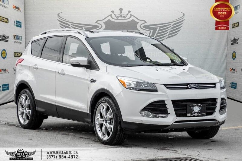2015 Ford Escape Titanium, AWD, NAVI, REAR CAM, LEATHER, B.SPOT, PANO ROOF