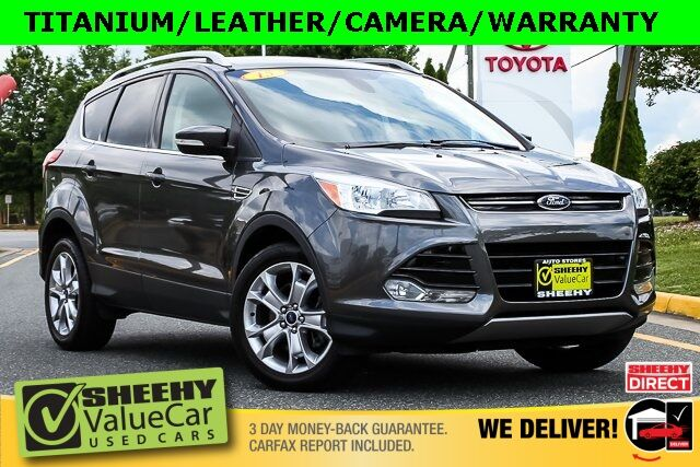 2015 Ford Escape Titanium HEATED LEATHER CAMERA SONY Stafford VA