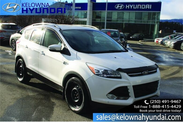 2015 Ford Escape Titanium Leather heated seats, Remote Keyless Entry,Rear View Camera Kelowna BC