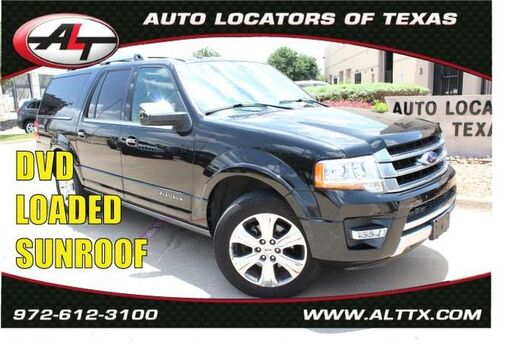 2015 Ford Expedition EL Platinum Plano TX