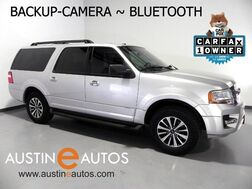 2015_Ford_Expedition EL XLT_*BACKUP-CAMERA, 3RD ROW, STEERING WHEEL CONTROLS, RUNNING BOARDS, TOW PKG, ALLOYS, BLUETOOTH PHONE & AUDIO_ Round Rock TX