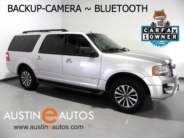 2015 Ford Expedition EL XLT *BACKUP-CAMERA, 3RD ROW, STEERING WHEEL CONTROLS, RUNNING BOARDS, TOW PKG, ALLOYS, BLUETOOTH PHONE & AUDIO Round Rock TX