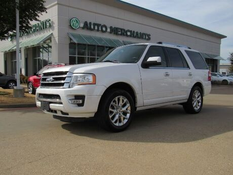 2015 Ford Expedition Limited 2WD 3.5L 6 CYLINDER, AUTOMATIC, LEATHER SEATS, NAVIGATION SYSTEM, REMOTE START ENGINE Plano TX