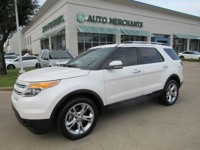 2015 Ford Explorer Limited 4wd Nav Htd Cooled Sts Backup