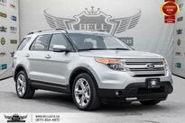 Ford Explorer Limited, AWD, NAVI, BACK-UP CAM, PANO ROOF, LEATHER 2015