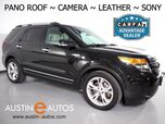 2015 Ford Explorer Limited *BACKUP-CAMERA, PANORAMA MOONROOF, TOUCH SCREEN, LEATHER, HEATED SEATS, SONY AUDIO, 3RD ROW, BLUETOOTH PHONE & AUDIO
