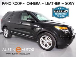 2015_Ford_Explorer Limited_*BACKUP-CAMERA, PANORAMA MOONROOF, TOUCH SCREEN, LEATHER, HEATED SEATS, SONY AUDIO, 3RD ROW, BLUETOOTH PHONE & AUDIO_ Round Rock TX