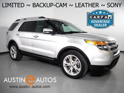 2015_Ford_Explorer Limited_*BACKUP-CAMERA, TOUCH SCREEN, LEATHER, HEATED SEATS, 3RD ROW SEATING, ALLOY WHEELS, SONY AUDIO, BLUETOOTH PHONE & AUDIO_ Round Rock TX