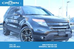 2015_Ford_Explorer_Local Trade, One Owner! Fully loaded Rare Triple Black Sport 3.5 Twin Turbo Eco-Boost_ Winnipeg MB