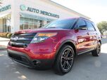 2015 Ford Explorer Sport 4WD POWERED 3RD ROW SEATS, CAPTAINS CHAIRS, NAVIGATION, HEATED/COOLED SEATS, BACKUP CAM