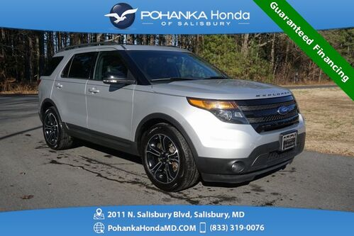 2015_Ford_Explorer_Sport 4wd ** NAVI & SUNROOF ** 3RD ROW SEATING **_ Salisbury MD