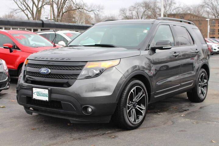 2015 Ford Explorer Sport Fort Wayne Auburn and Kendallville IN