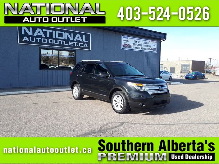2015 Ford Explorer XLT - NAVIGATION - 7 PASSANGER - HEATED CLOTH SEATS Lethbridge AB