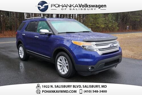 2015_Ford_Explorer_XLT ** THIRD ROW ** LOW MILES **_ Salisbury MD