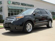 2015_Ford_Explorer_XLT 4WD SUNROOF, BACKUP CAM, HTD SEATS, SAT RADIO, LEATHER, BLUETOOTH_ Plano TX