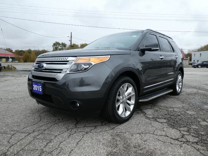 2015 Ford Explorer XLT Heated Seats Power Lift Gate Back Up Cam Essex ON