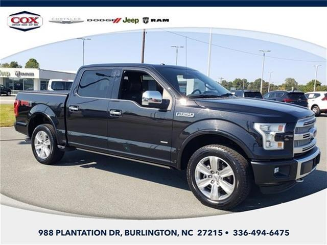 2015 Ford F-150 Burlington NC