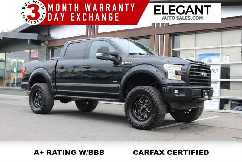 2015 Ford F-150 FAB TECH LIFTED NAVI NICE 4X4 ECOBOOST