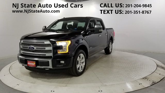 "2015 Ford F-150 4WD SuperCrew 145"" Platinum Jersey City NJ"