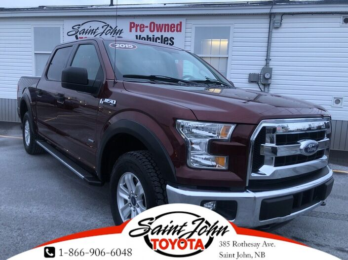 2015 Ford F-150 4WD SuperCrew 145  XLT Saint John NB