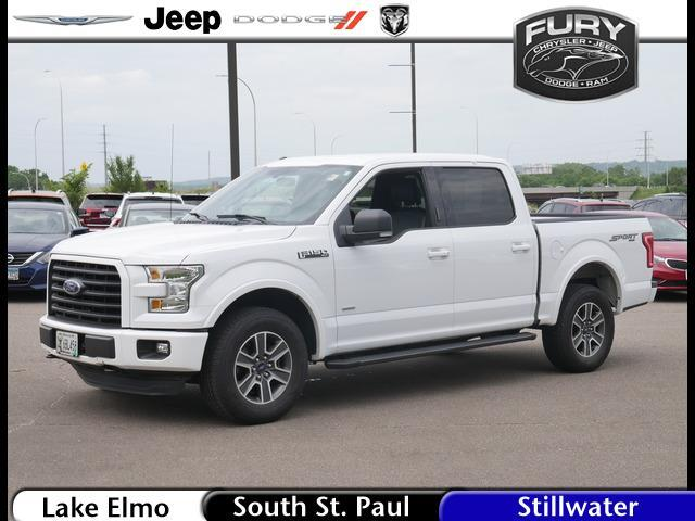 2015 Ford F-150 4WD SuperCrew 145 XLT St. Paul MN