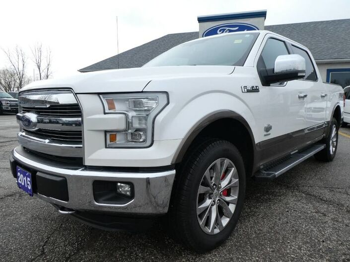 2015 Ford F-150 King Ranch - HEATED & A/C SEATS - REMOTE START - NAVIGATION - POWER TONNEAU COVER Essex ON