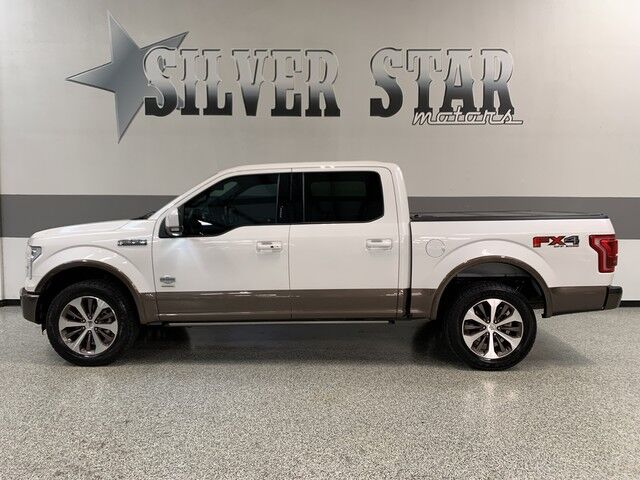 2015 Ford F-150 King Ranch 4WD FX4 Ultimate Dallas TX