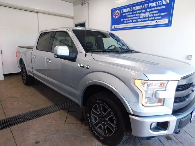 2015 Ford F-150 LARIAT CREW Leather NAVI Listowel ON