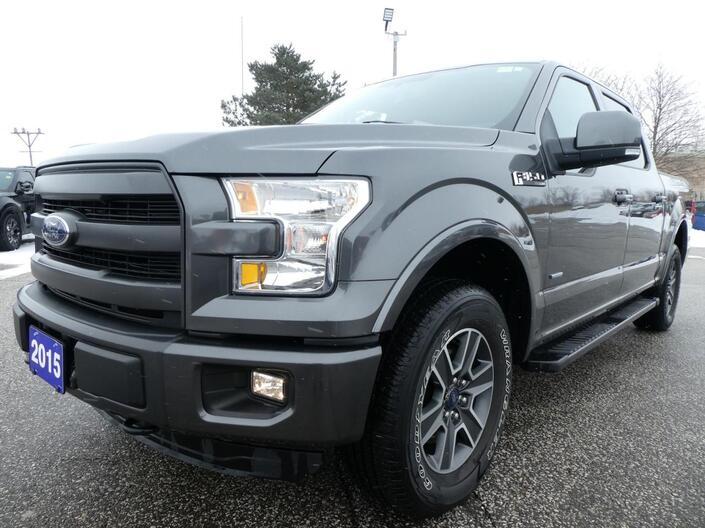 2015 Ford F-150 Lariat 2.7L | Navigation | Heated Seats | Remote Start Essex ON