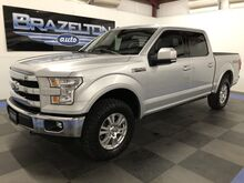 2015_Ford_F-150_Lariat, Leveling Kit, Bilstein Shocks, AMP Power Boards_ Houston TX