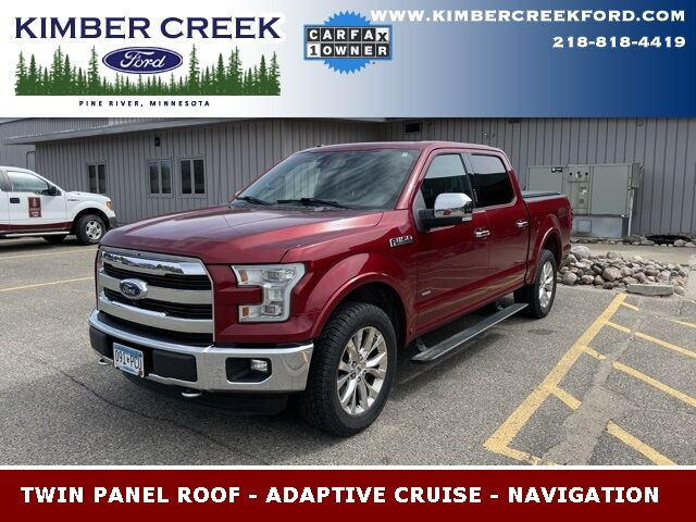 2015 Ford F-150 Lariat Pine River MN