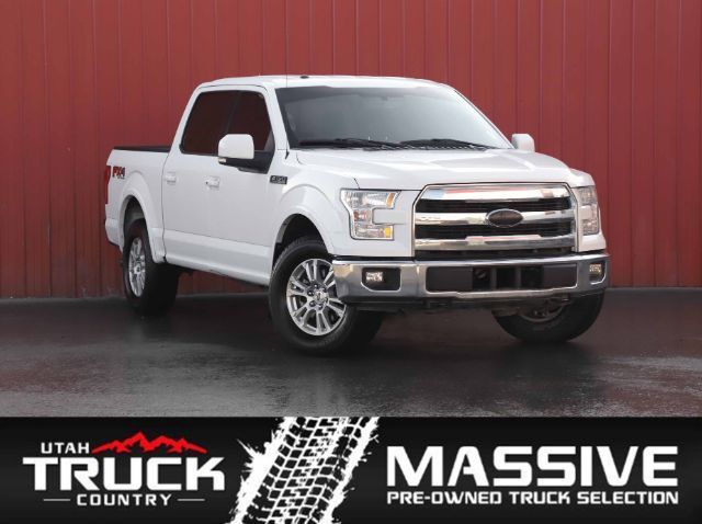 2015 Ford F-150 Lariat SuperCrew 5.5-ft. Bed 4WD Lehi UT