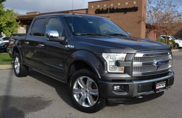 2015 Ford F-150 Platinum/4X4/Pwr Boards+Tailgate Release/Pano Roof/Massaging Seats/Loaded Nashville TN