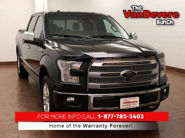 2015 Ford F-150 Platinum Akron OH
