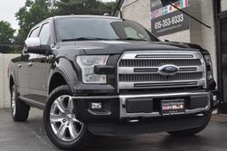 Ford F-150 Platinum FX4/Navigation/Blind Spot Info System/Heated & Cooled Leather Seats/Adaptive Cruise/Active Park Assist/Twin Panel Moonroof/70000# GVWR Pkg w/ Tow Pkg 2015