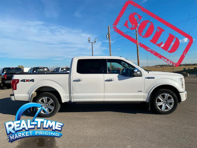 2015 Ford F-150 Platinum High River AB