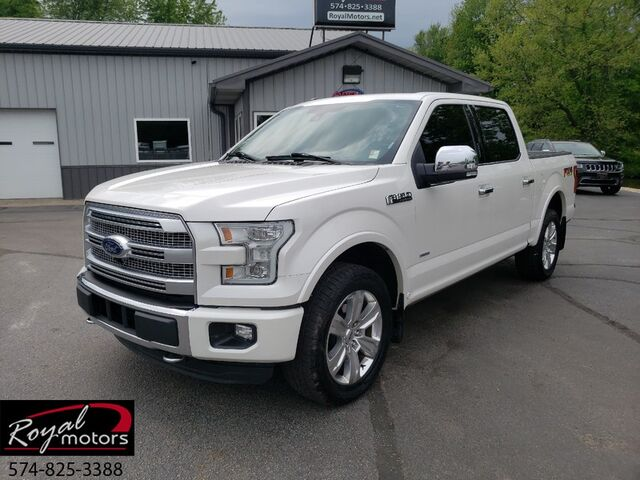 2015 Ford F-150 Platinum Middlebury IN