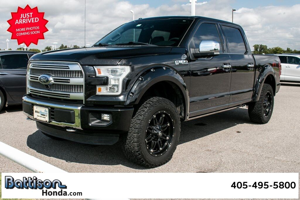 2015_Ford_F-150_Platinum_ Oklahoma City OK