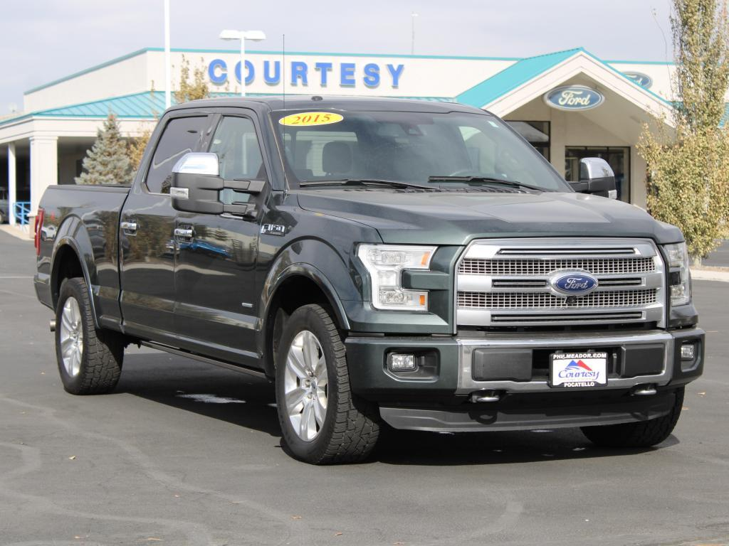 2015 Ford F-150 Platinum Pocatello ID