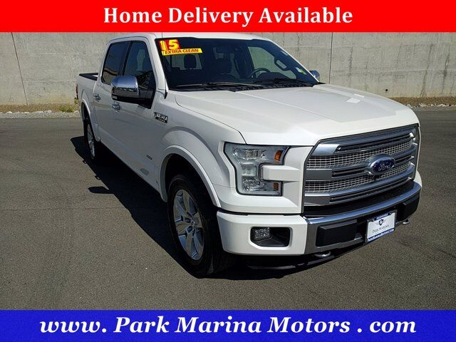 2015 Ford F-150 Platinum Redding CA