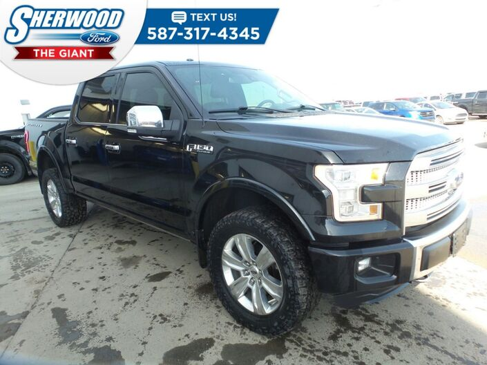 2015 Ford F-150 Platinum Sherwood Park AB