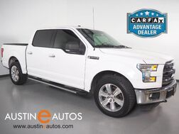 2015_Ford_F-150 SuperCrew XLT 5.0L V8_*BACKUP-CAMERA, TOUCH SCREEN, CHROME APPEARANCE PKG, REMOTE START, TOW PKG, BED LINER, SIDE STEPS, ALLOY WHEELS, BLUETOOTH PHONE & AUDIO_ Round Rock TX