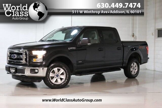 2015 Ford F-150 XLT - ONE OWNER AWD BLUETOOTH BACKUP CAMERA SIRIUS RADIO TOW ASSIST OFFROAD MODE ADJUSTABLE PEDALS Chicago IL