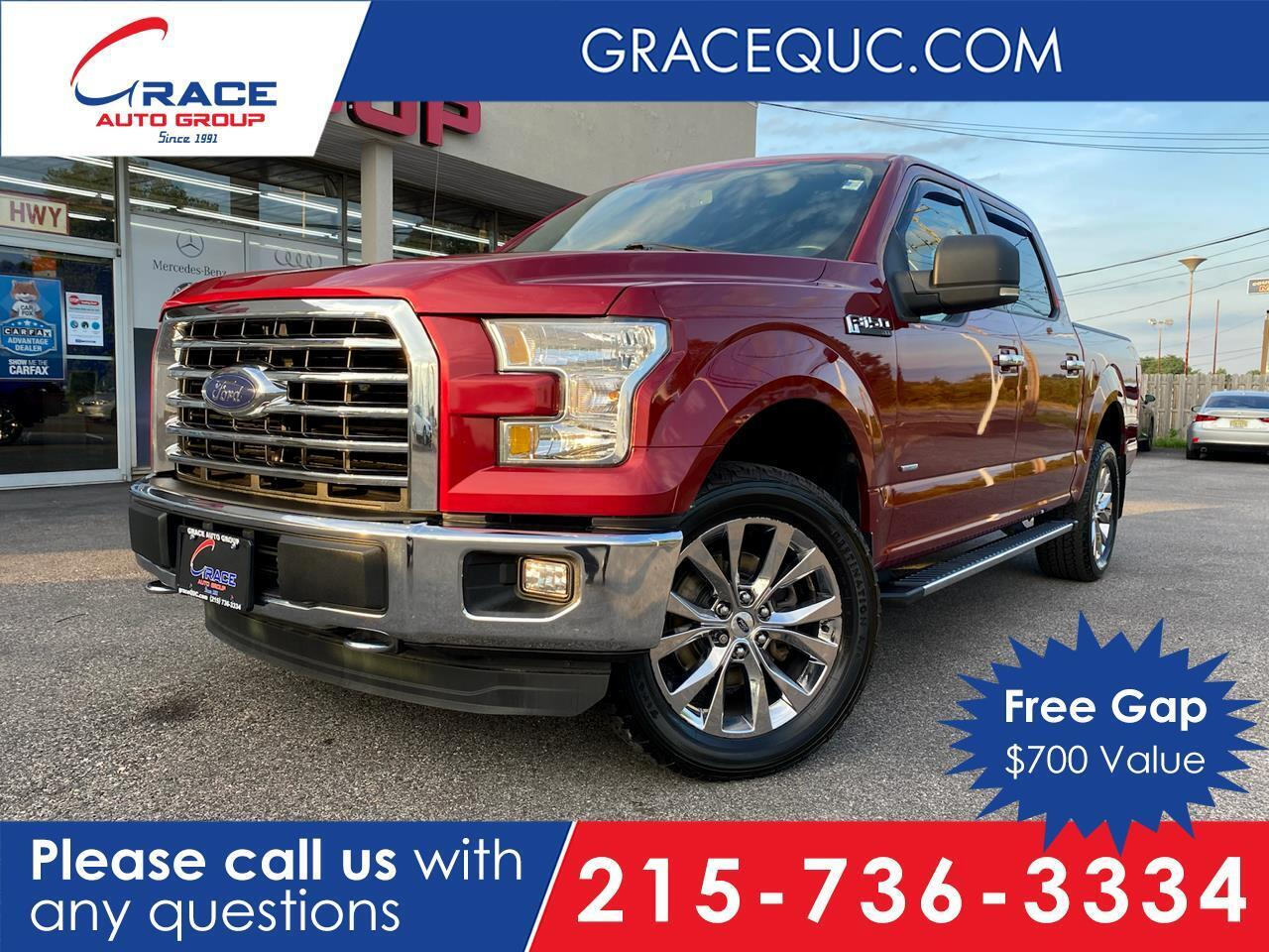 2015 Ford F-150 XLT SuperCrew 5.5-ft. Bed 4WD Morrisville PA