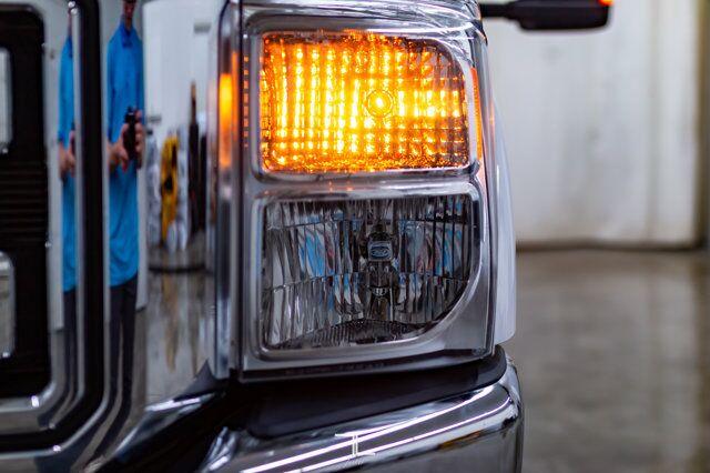 2015 Ford F-350 4x4 Crew Cab XLT Longbox Diesel Leather Red Deer AB