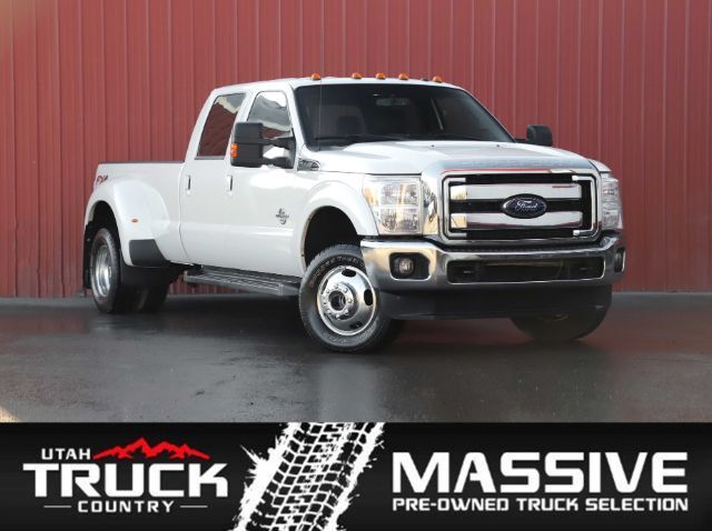 2015 Ford F-350 SD Lariat Crew Cab Long Bed DRW 4WD Lehi UT