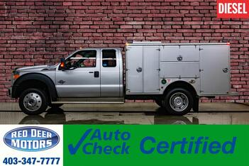 2015_Ford_F-550_4x4 Super Cab XLT Diesel Service Box_ Red Deer AB