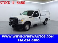 2015_Ford_F250_~ Utility Shell ~ Only 55K Miles!_ Rocklin CA