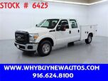 2015 Ford F250 Utility ~ Crew Cab ~ Only 73K Miles!